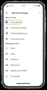 Google Home Setup 2